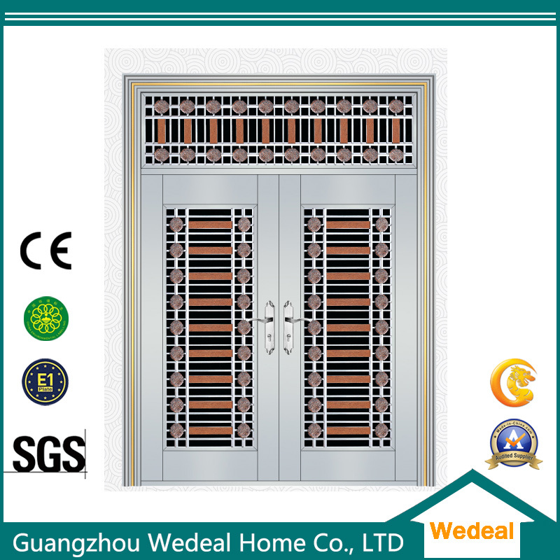 Great Security Elegant Choice Stainless Steel Door for Villa!