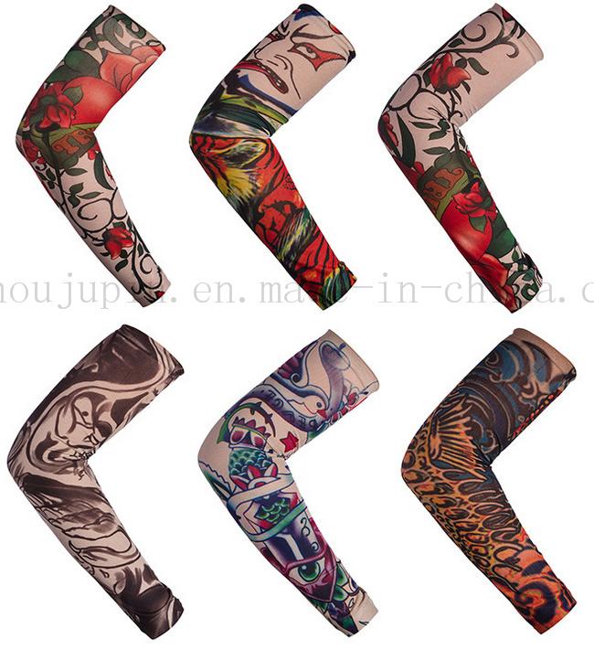 Custom Print Fashion Various Nylon Sport Tattoo Arm Sleeve