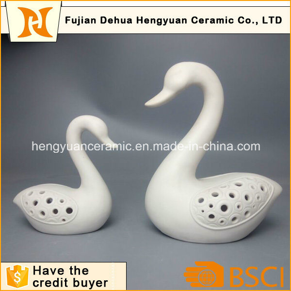Porcelain Swan as Wedding Favors and Gift