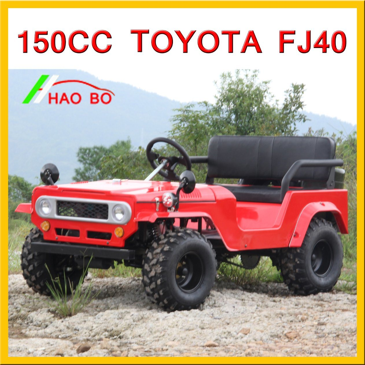 150cc Toyota Land Cruiser for Right Hand Driving