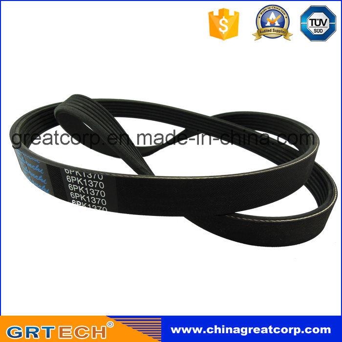 6pk1370 Good Quality Rubber V-Belt