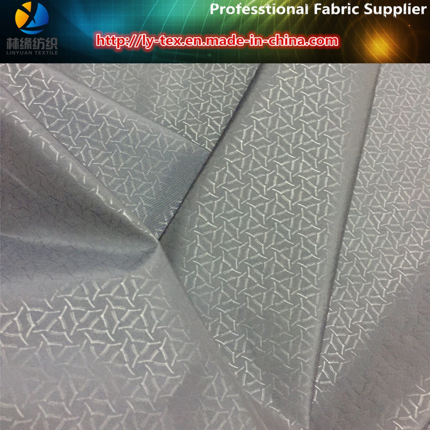 Polyester Pongee with Soft Nap Special Printing for Jacket (R0162)