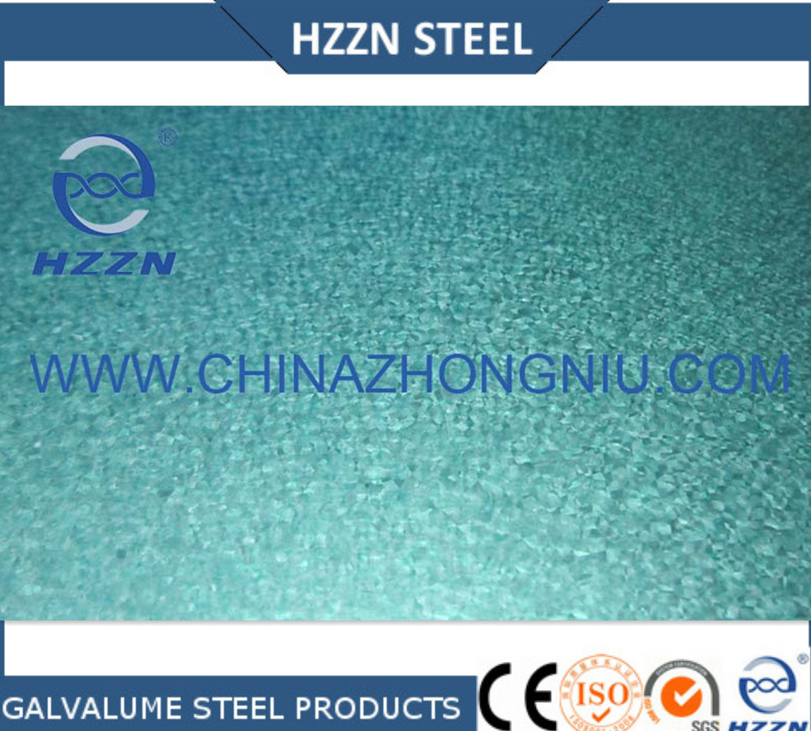 Galvalume Steel Coils with Green Color Afp