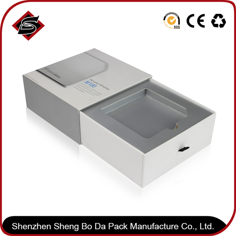 Customized Drawer Style Paper Packaging Box for Electronic Products