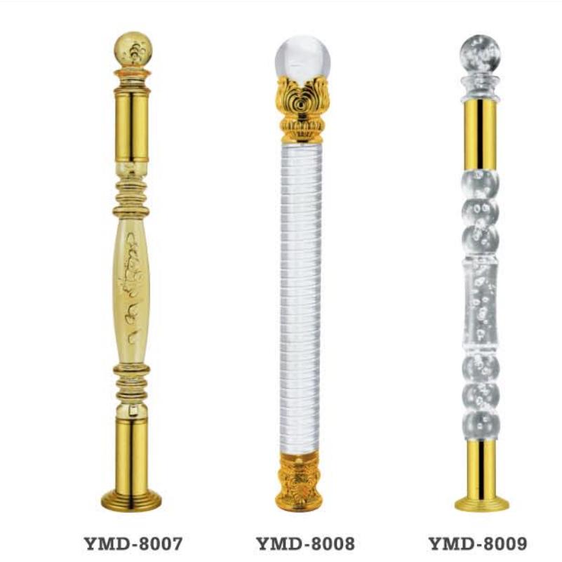 High Quality Acrylic Crystal Stair Railing Column