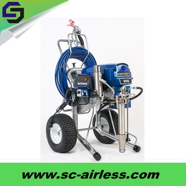 5L/Min Large Flow Short Pump Type Paint Sprayer St500 Airless Paint Sprayer