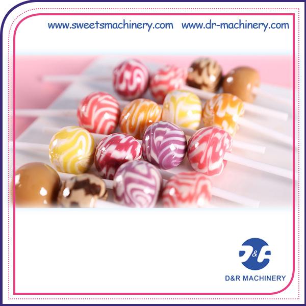Deposited Lollipop Candy Production Line Lollipop Making Equipment