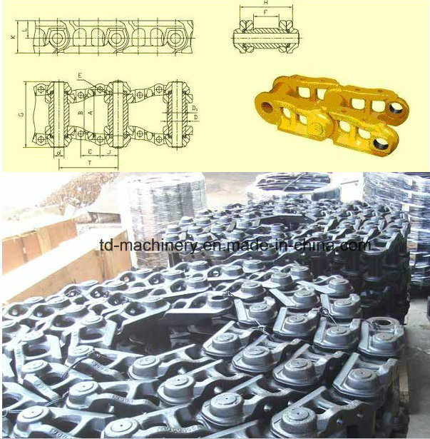 Kobelco Track Link Chain Link OEM Crawler Excavtor Undercarriage Parts for Construction