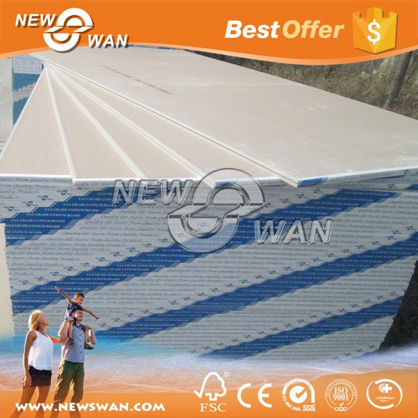 12.50mm Boral Dry Wall / Kenya Gypsum Plaster Board Price