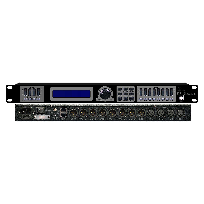 Dp-48 Professional Audio Processor/Amplifier