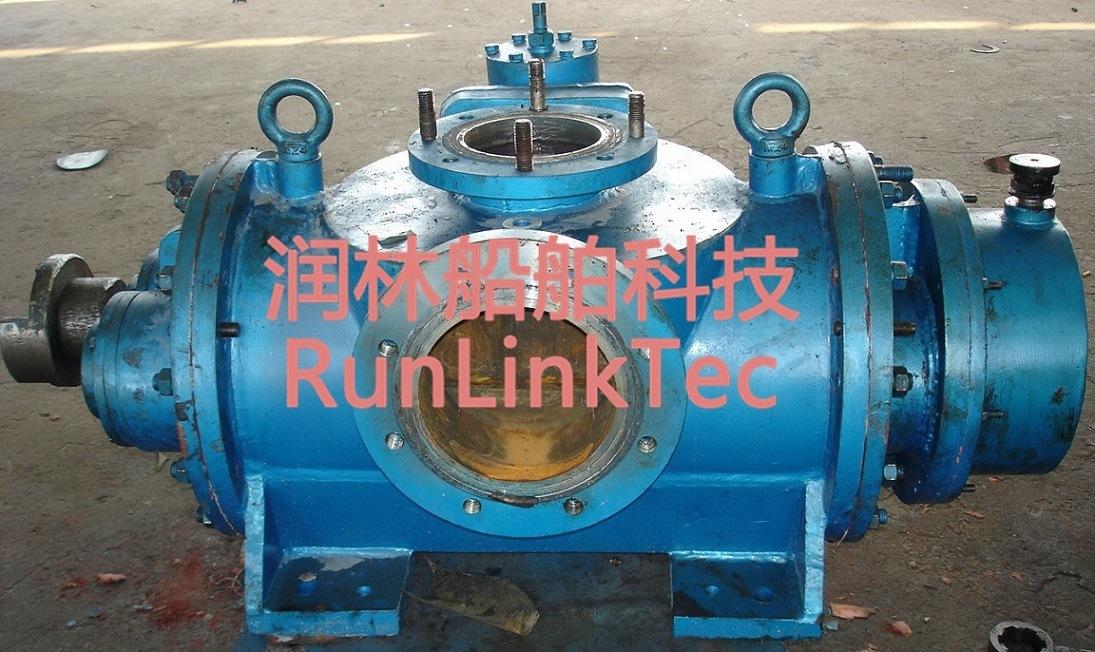Pump Twin Screw/High Pressure/Deck Marine