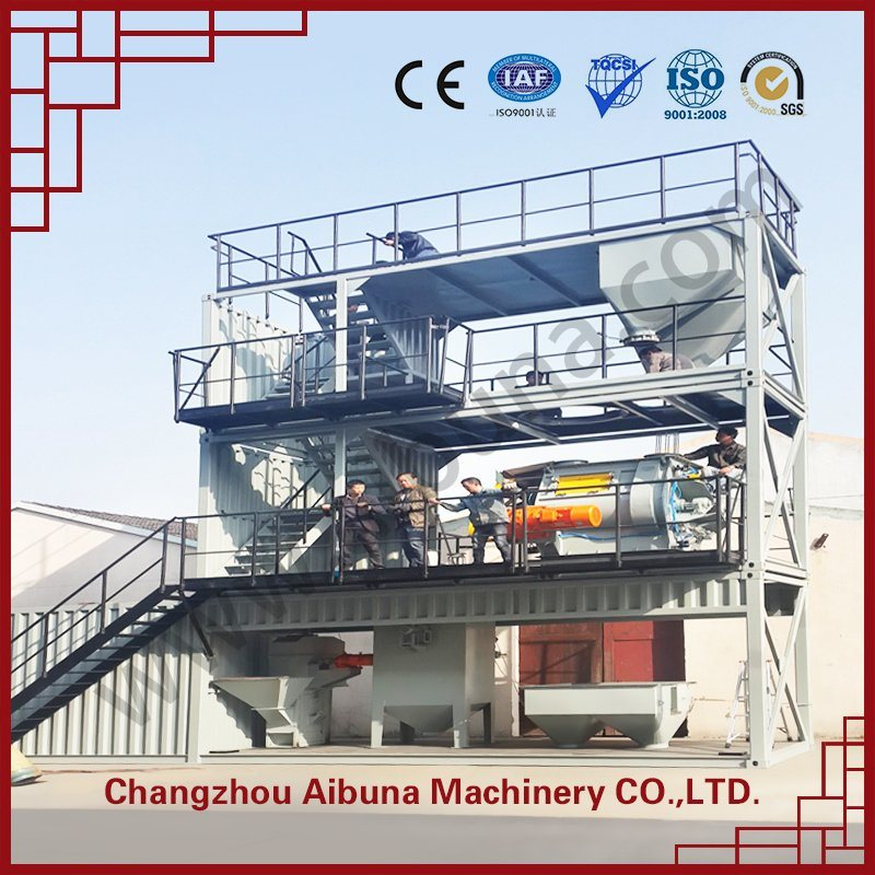 Environmental -Protection Containerized Specila Dry Mortar Production Line