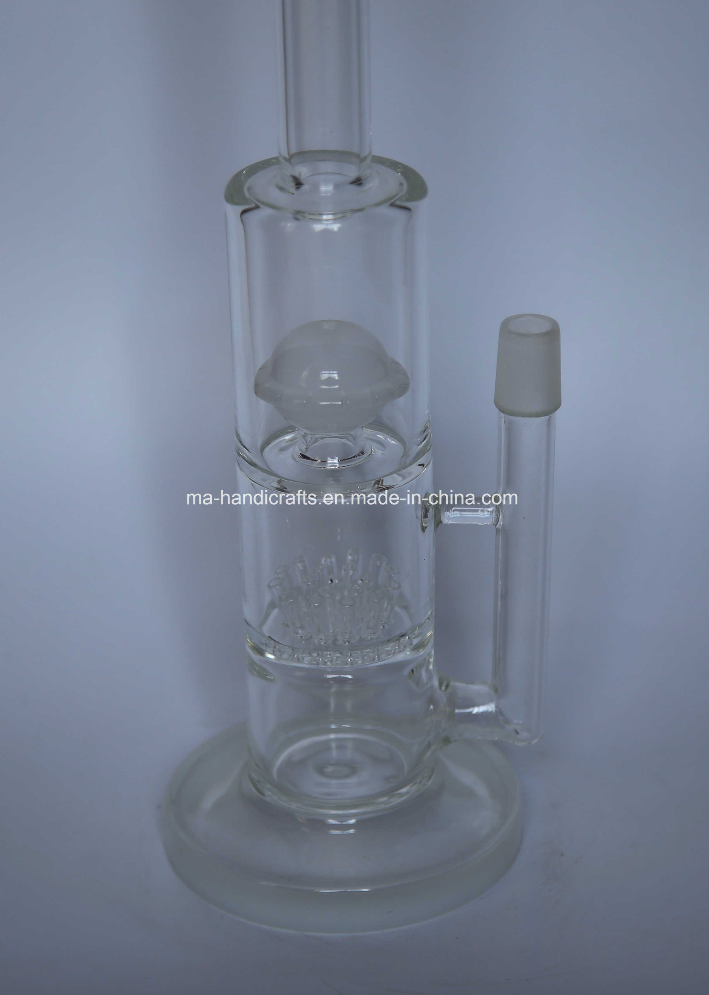 "14"" Functional Glass Water Pipes"