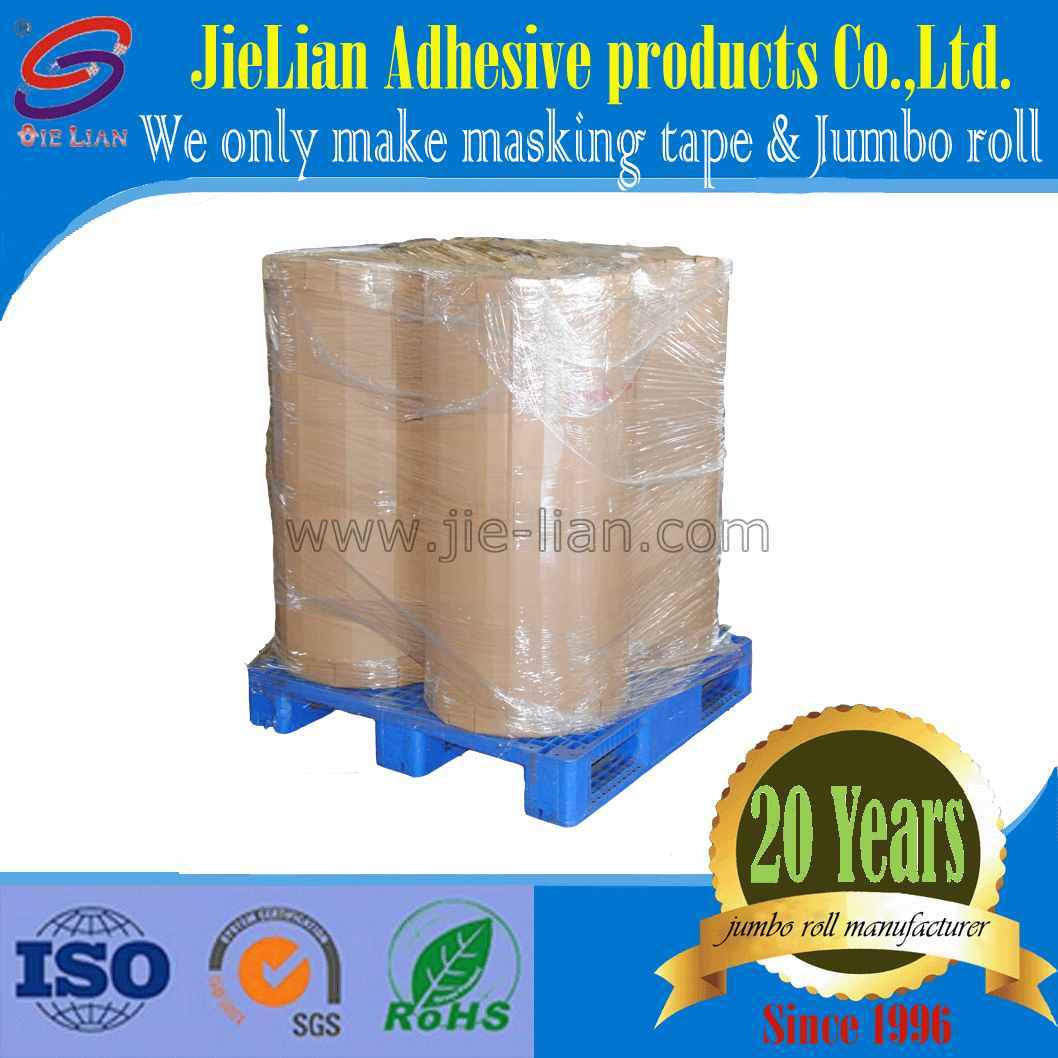 Good Supplier High Temperature Masking Tape Jumbo Roll