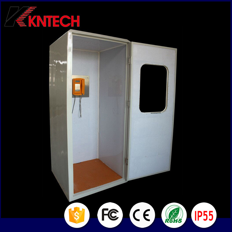 Kntech RF-19 Sound Proof Telephone Booth Acoustic Hood 23dB