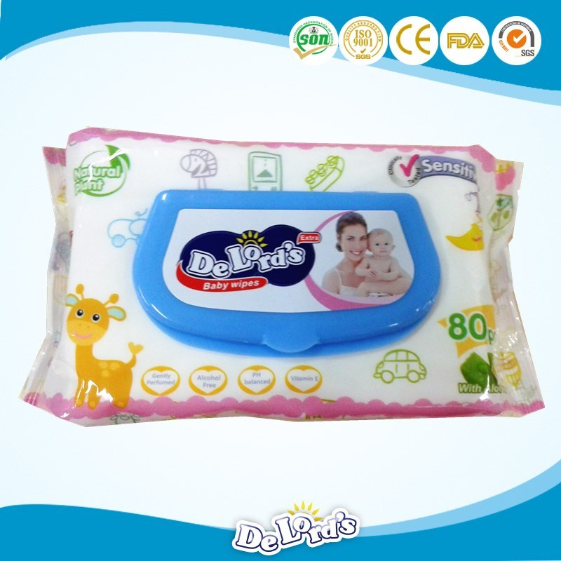 Certified Baby Skin-Care Wet Wipes OEM Provided Factory Directly Supplying