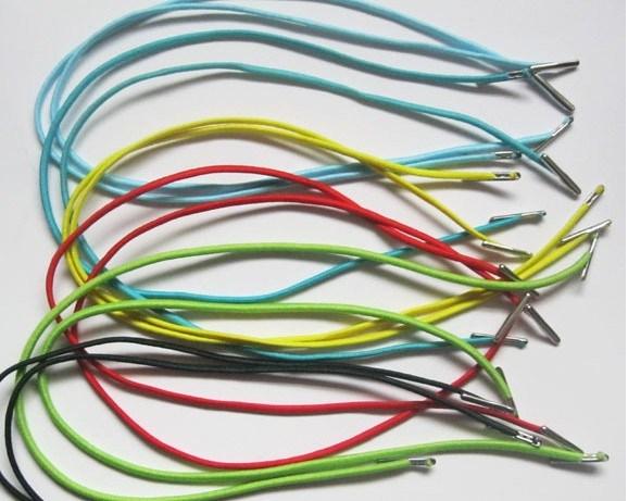 Wholesale Short Elastic Shoelaces Belt