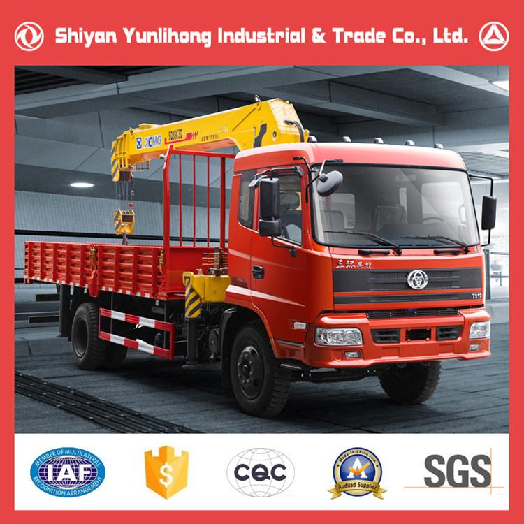 Sitom 4X2 Truck Mounted Crane/Truck with Crane