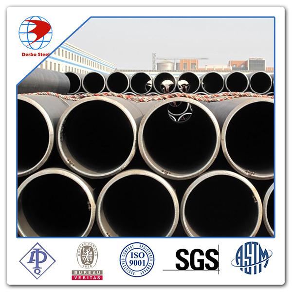 LSAW Welded Pipe API 5L Gr. B Carbon Steel Pipe API 5L Psl1 Psl2 Steel Pipe
