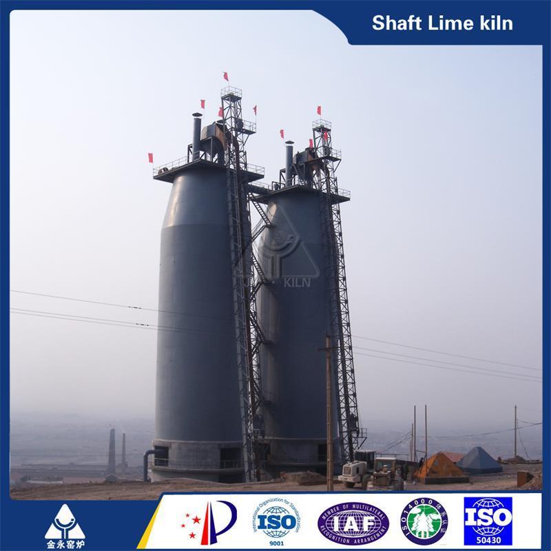 Easy Operation Lime Vertical Shaft Kiln