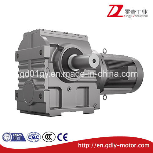 S Helical-Worm Geared Motor