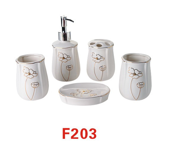 Tooth Brush Holder, Tooth Cup, Bathroom Accessories (F203)