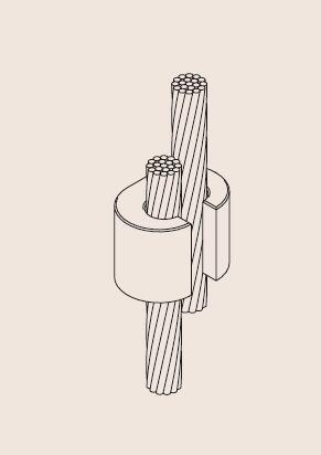 Copper Cable Wire C Clamp