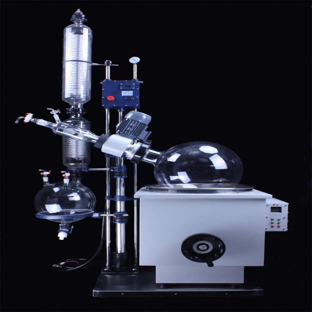 R5003ke2 Vacuum Film Rotary Evaporator with Heating Bath