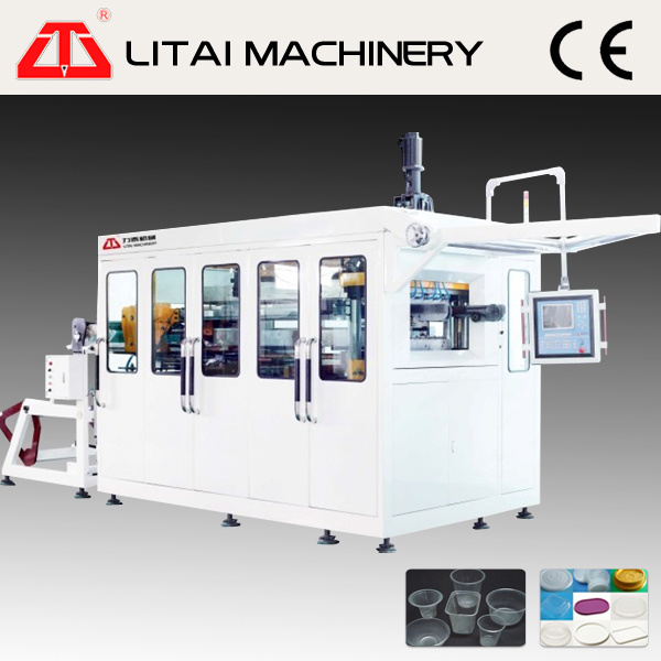 Full Automatic Plastic Coffee Cup Fruit Tray Plate Forming Machine