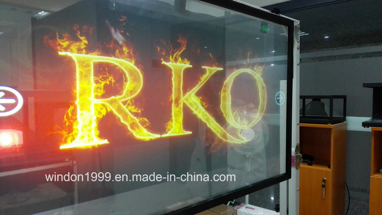 High Quality Transparent Rear Projection Film, Holographic Screen