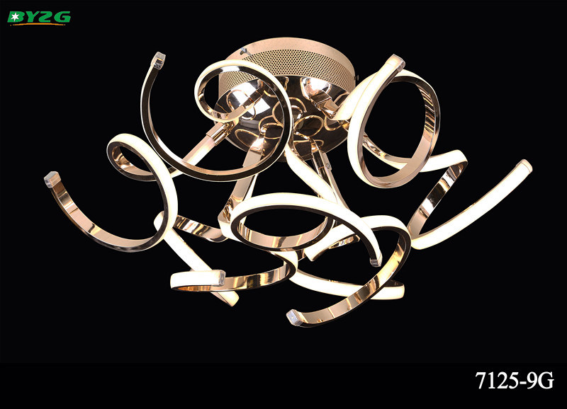 European New Type Indoor Crystal Chandelier Light/Pendant Lighting Byzg 7125-9g