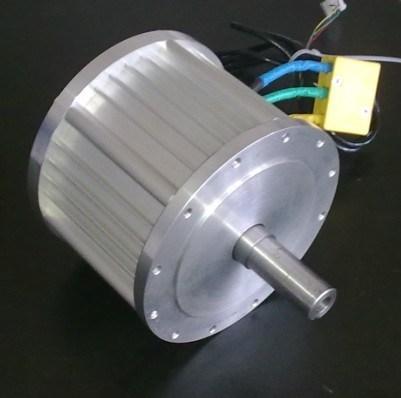 Pancake Brushless DC Motor