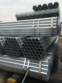Galvanized Pipe, 1/2′′ Ms Round Pipe, Hot Dipped Galvanized Pipe From China Tianjin