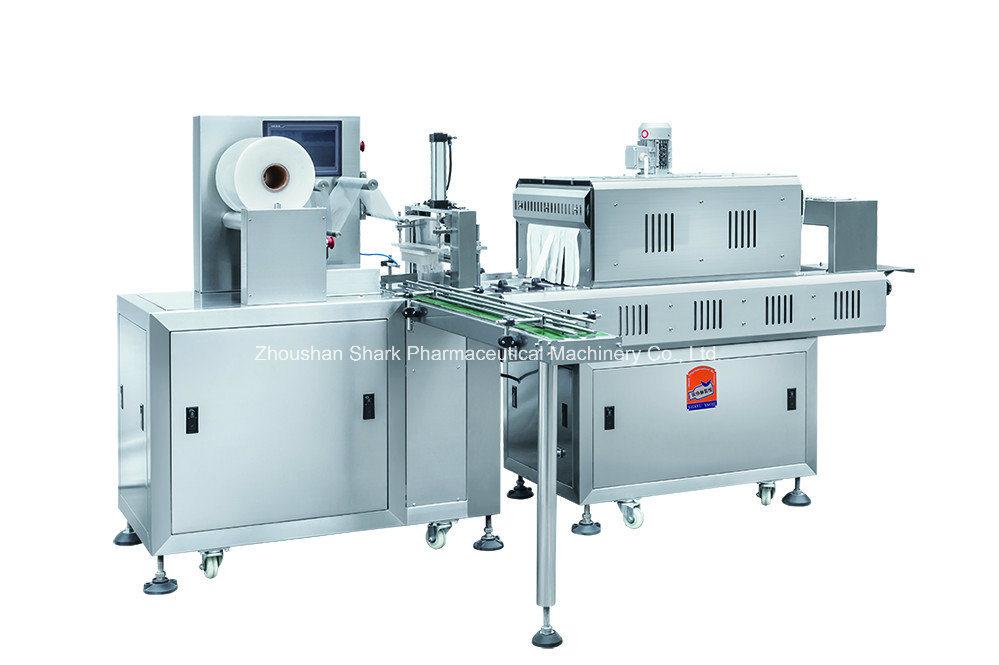 Automatic Sleeve Sealing & Shrink Packing Machine