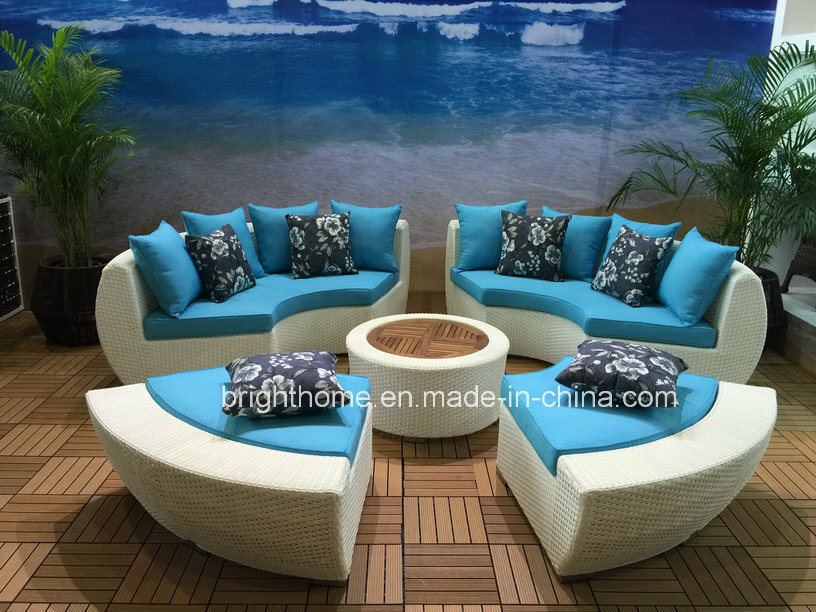 China New Design Sun Lounge Wicker Furniture Outdoor Garden