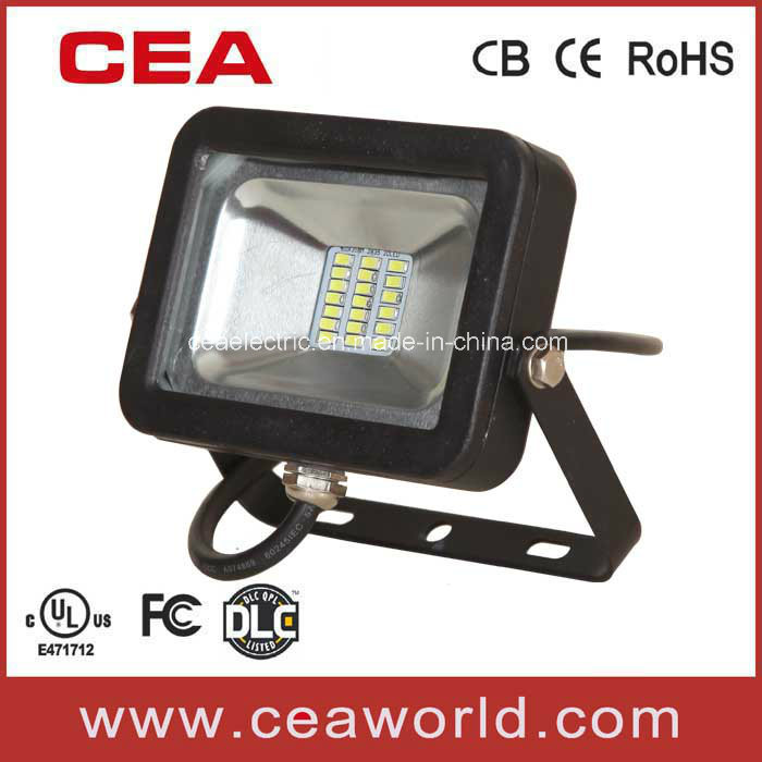 UL cUL Dlc FCC Approved 10W SMD LED Flood Light with 1LED/1W High Power Chip