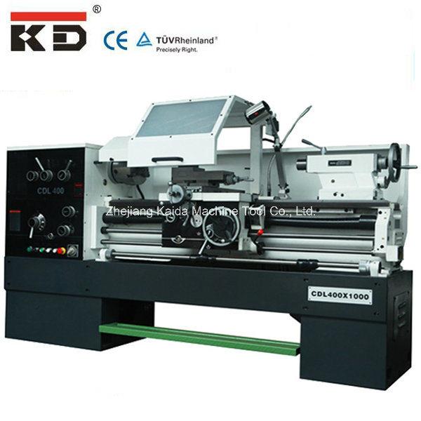 Customized Harden Gear Box Metal Lathe Machine Cdl400