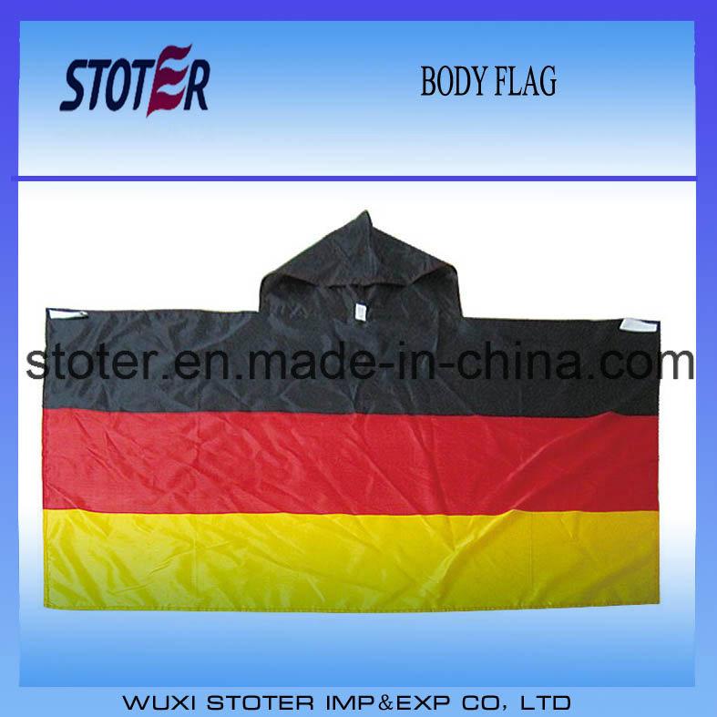 90*150cm Germany Body Cape Flag