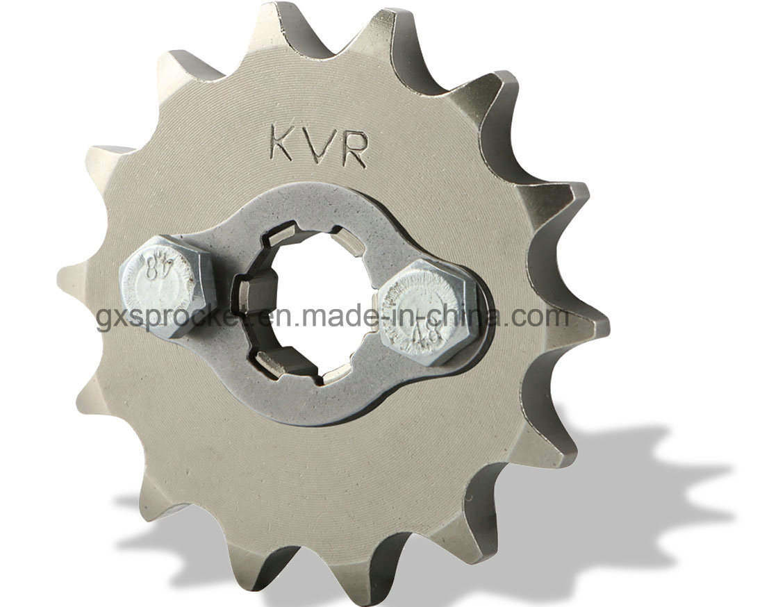 Motorcycle Sprocket Front for Honda Wh100/Wh125-6/Wy125-S/Wh125-13