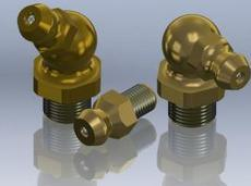 Button Head Grease Fittings Grease Nipples