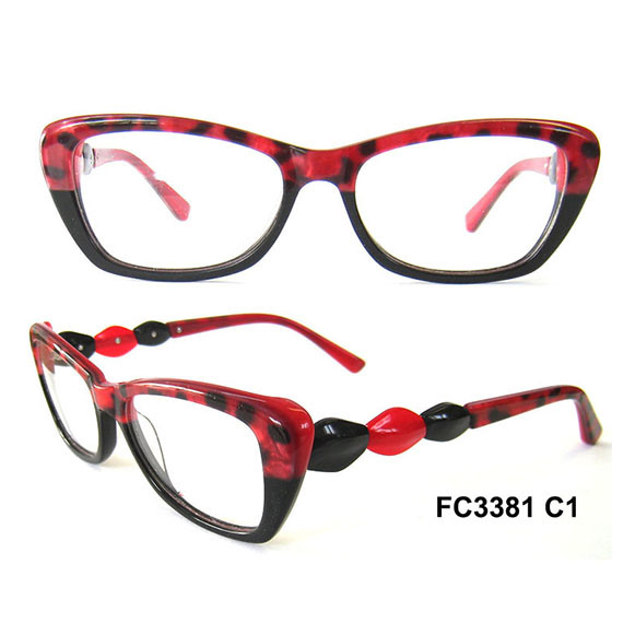Cat Shape Party Optical Frame Glasses for Lady