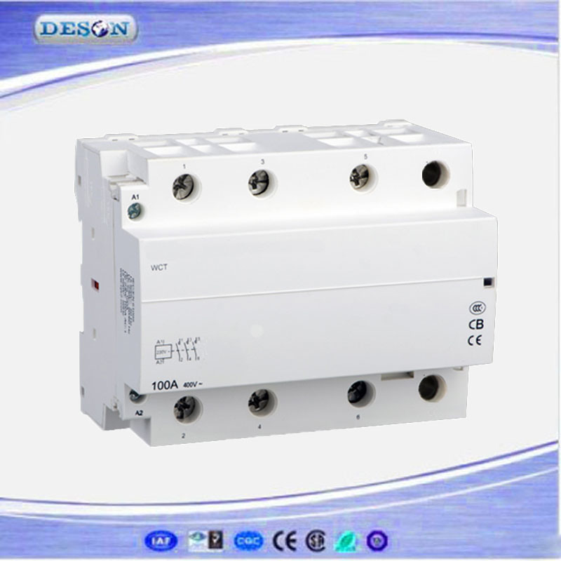 3p 40A Ict Household DIN Rail AC Contactor