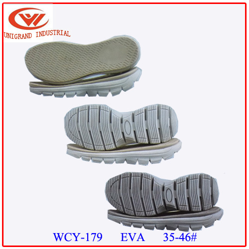 Non Slip Kid Proof MD+Rb Material Series Sandals Sole for Making Slipper