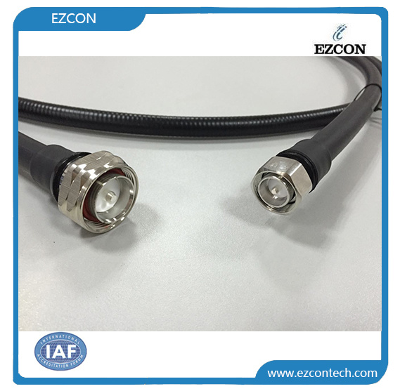 DIN 7/16 Male to 4.3-10 Male RF Coaxial Low Pim Test Cable Assembly