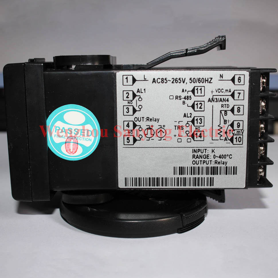 Digital Pid Temperature Controller with Output Graphic Bar Indication