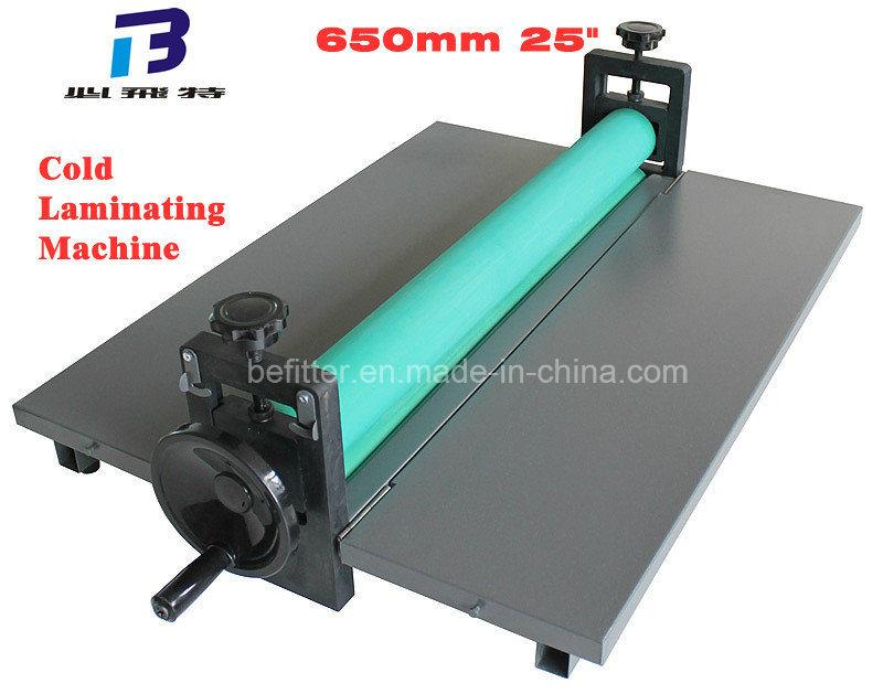 "LBS 650mm 25.5"" Manual Cold Roll Laminator Machine"