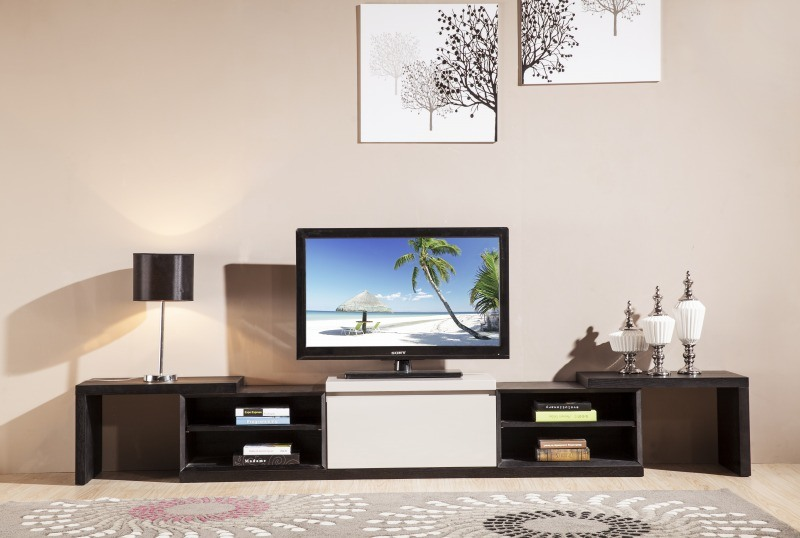 Simple Stlye Wood TV Stand Home Furniture (DS-2032)