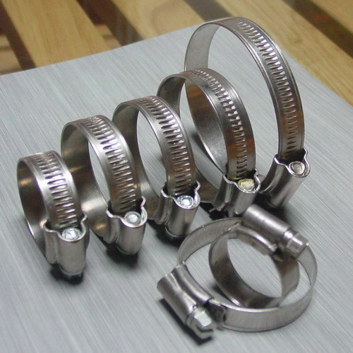 Carbon Steel Hose Clamp of British Type