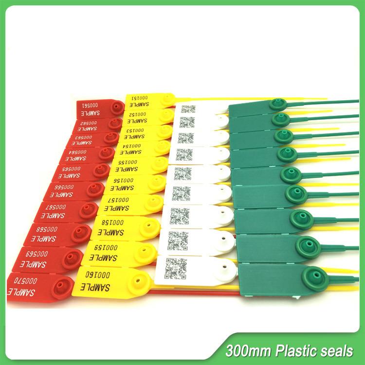 Plastic Adjustable Seals, Plastic Seals 300mm Long