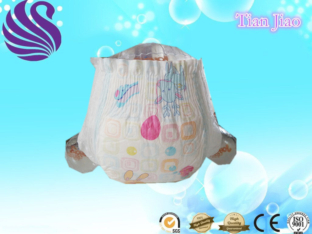 China Wholesale Disposable S-Cut Baby Diapers for Baby